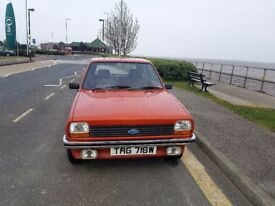 1980 ford fiesta L an untouched beauty 1 owner