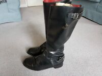 Lewis Leathers classic vintage motor cycle boots