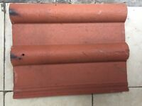 Used Marley double Roman roof tiles