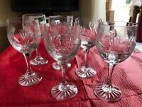 Zawiercie crystal wine glasses