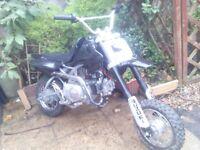 pit bike 72 cc
