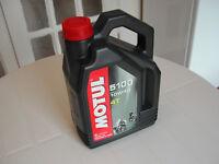 Motul 5100 10W40 Semi-Synthetic Motorcycle Oil - 4 litre
