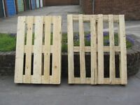 2 FREE WOODEN PALLETS WOOD BURNERS BUILDING CRAFTS ETC