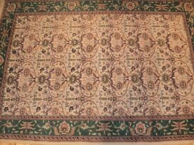 LARGE HAND KNOTTED PERSIAN RUG FROM JOHN LEWIS (COST £950)