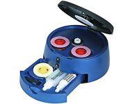 DVD CD Blu-Ray Game Disc Scratch Repair & Cleaner Kit Machine - NEW - still in box