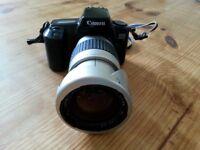 Cannon camera and Cosina lens
