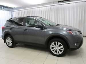 2013 Toyota RAV4 LIMITED AWD! Leather! Sunroof! One Owner!