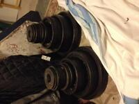 Two Olympic Weight Sets