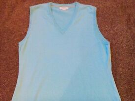 3 Ladies Wolsey and Lyle & Scott Sleeveless Golf Pullover Size 16