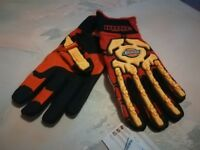 Assorted Safety Gloves New Various Sizes & Styles - KONG, Ansell, Cestus Impact Gloves