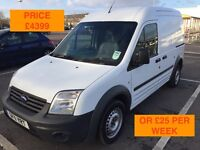 2011 FORD TRANSIT CONNECT T230 / NEW MOT / PX WELCOME / NO VAT / FINANCE AVAILABLE / WE DELIVER