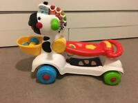 VTech 3 in 1 zebra baby walker / scooter