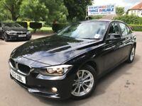 FINANCE £190 PR MONTH 1 OWNER 2012 BMW 320I SE TURBO 2.0 PETROL AUTO BLACK HPI CLEAR SERVICE HISTORY