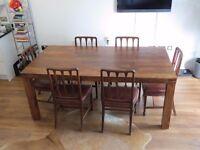 John Lewis Samara 8 Seater Wooden Dining Table