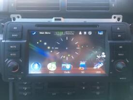 BMW E46 Coupe Convertible Touring Saloon Aftermarket Headunit