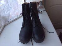 Black Cadet Boots,