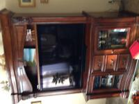 2 piece TV unit