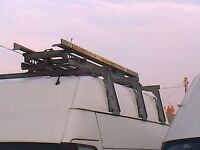 ford transit high roof van easi-load ladder rack (bristor)