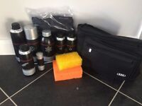 Genuine Audi Care and Cleaning Products Bag Set