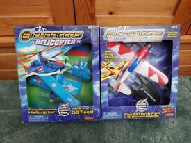 Two Echarger planes