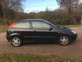 2002 52 FORD FOCUS 1.6 ZETEC MOT MAY 2017 PX TO CLEAR DRIVES WELL BARGAIN BE QUICK PX SWAPS