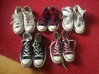 All star converse bundle sizes 3 and 4