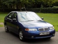 LOW MILEAGE,11,000 VOSA VERIFICATION ROVER 416 SLI HATCH AUTO,1 OWNER,12 MONTHS MOT,NO ADVISORIES