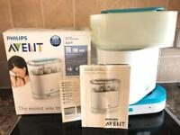 BOXED. Philips AVENT 3-1 electric steam steriliser