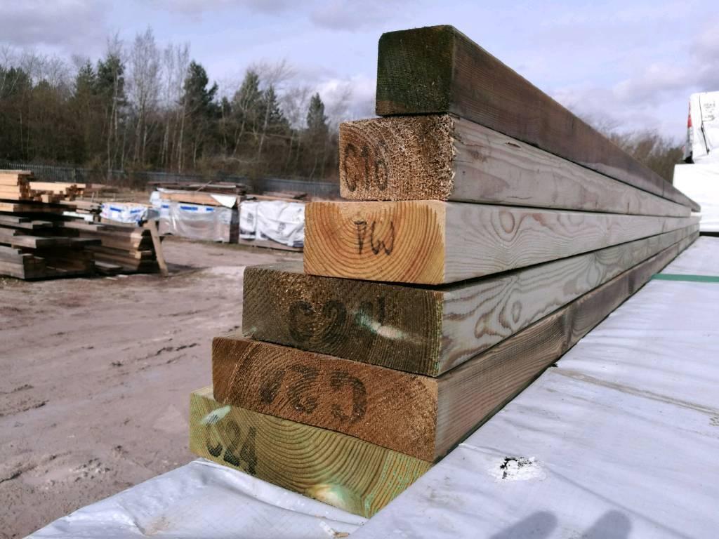 Tanalised C16/C24 Timber