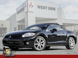 2008 Mitsubishi Eclipse Spyder GT-Soft Top Convertible-Satellite