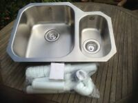 New Undermount Kitchen Sink