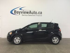 2012 Chevrolet SONIC LS- AUTO! ALLOYS! A/C! ON STAR! GAS BUDDY!