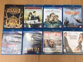 8 x blu ray movies
