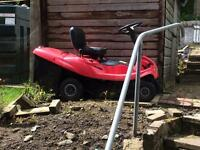 Ride on lawnmower in good condition