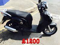 2010 Honda Pes 125 ( Has alarm )