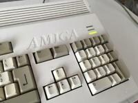 Commodore Amiga 1200 recapped retro
