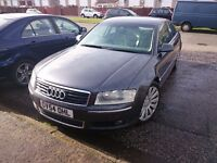 Audi a8 d3 2004 converted to LPG