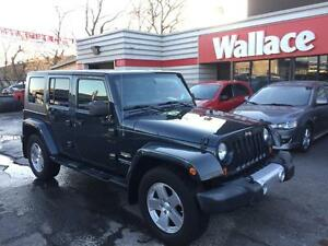 2008 Jeep Wrangler Unlimited Sahara 4X4 Bluetooth Leather
