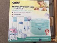 Bottle steriliser