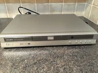 ALBA DVD player. Silver with remote control Fully working order CUMBRIA