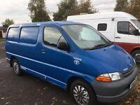 Toyota Hiace lwb 2001 year 2.4 diesel - CLOISE OF 2 VANS