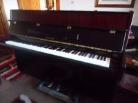 upright piano by hyundai as new
