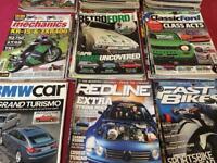Bike and car magazines