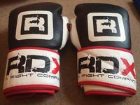 RDX 10oz Leather Boxing Gloves