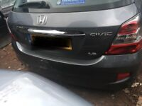 HONDA CIVIC 1.6 PETROL 2005 BREAKING FOR PARTS SPARES AND REPAIRS