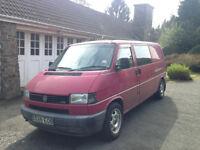 1998 VW Transporter LWB 2.5 Turbo Diesel 170k ? Surf Bus ? Stealth Van ?