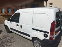 Renault Kangoo diesel van. MOT in February. It has the important side sliding door.