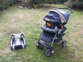 Baby Combo: Stroller travel system (Including car seat) + Free toddler car seat
