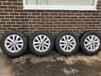 """VW Transporter 16"""" Alloy Wheels and Tyres 2017 Model"""