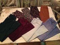 Girls Bundle of Gap, Zara & Next Jeans/Leggings ... Age 9-13